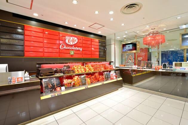 Nestle's Kit Kat Boutique concept store