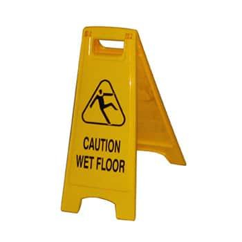 Wet Floor Board Yellow