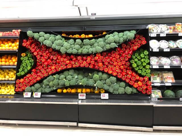 Effective merchandising displays produce fitting