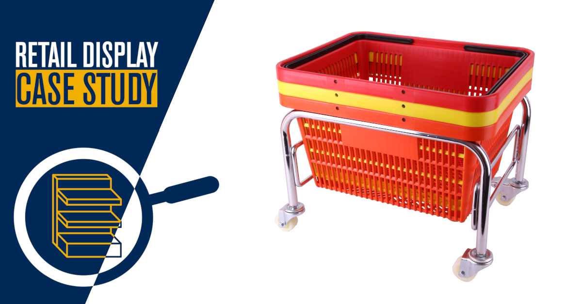 Case Study – RF Tagged Supermarket Shopping Baskets
