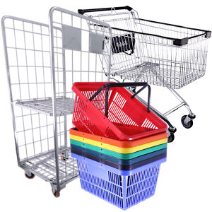 Shopping Baskets, Trolleys and Accessories