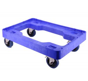 Blue crate dolly 2